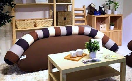 ヨギボーキャタピラーロング(Yogibo Caterpillar)