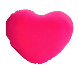 Yogibo heart Pillow