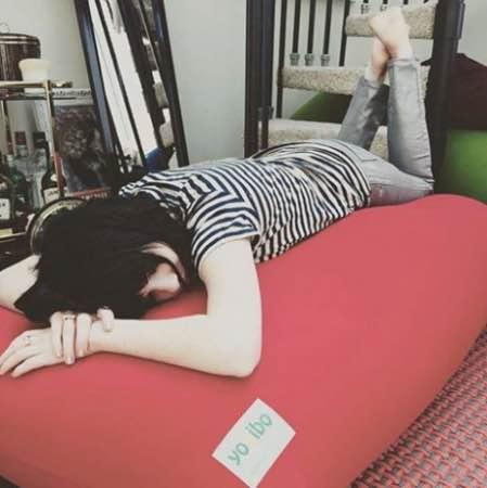 ヨギボーマックス寝る2