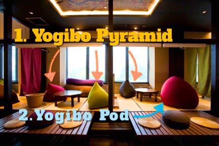 ヨギボーポッドとヨギボーピラミッド
