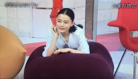 杉崎花ヨギボーソファー