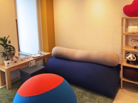 ヨギボー青山店3階