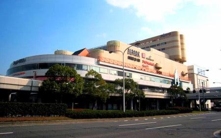 ヨギボー店舗広島アルパークの外観
