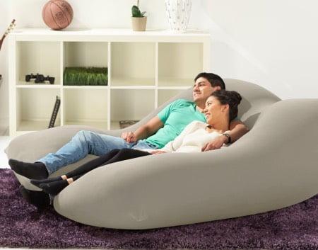 ソファベッドとして使うヨギボーダブル