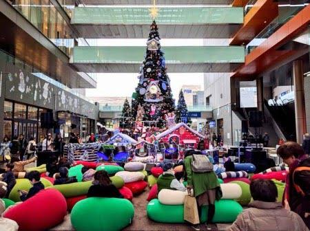 ヨギボーのクリスマス