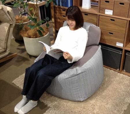 無印良品「体にフィットするソファ」のクッション