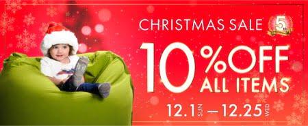 ヨギボークリスマスセール全品10%オフ