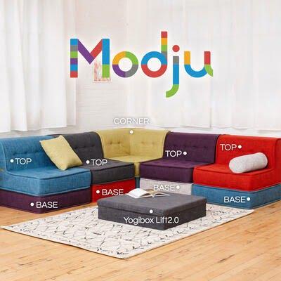 ヨギボー「モジュ(modju)」ソファのセット販売「ファミリーセット」