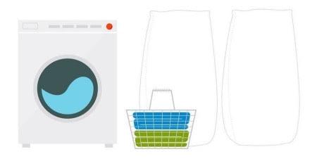人をダメにするヨギボーソファのカバー洗濯方法