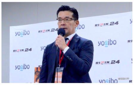 RIZIN(ライジン)榊原CEOとヨギボーソファ