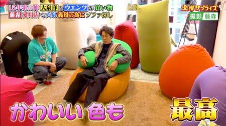 「火曜サプライズ(TV)」で大泉洋さんがヨギボーショートとヨギボーサポートを試す