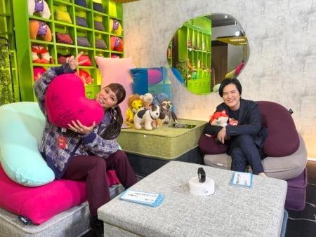 「Yogibo presents FREE STUDIO(フリスタ)」第2回目ゲストのAIさん
