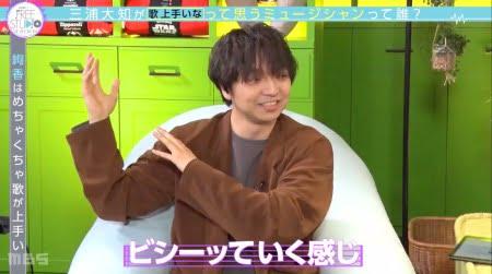 「Yogibo presents FREE STUDIO(フリスタ)」三浦大知さんが歌を上手いと思う絢香さん