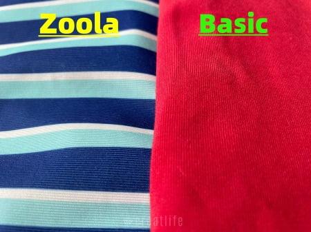 通常のヨギボーソファとズーラシリーズのソファーカバーの比較