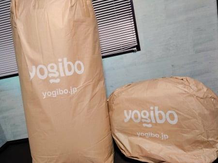 ヨギボーソファ通販で購入した場合の通常の梱包資材